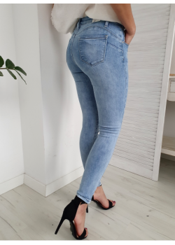 PUSH UP Jeans KISS PINK...