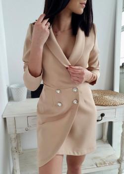 Blazer/Kleid EMPORIUM Beige