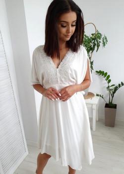 Kleid SAMAR Ecru
