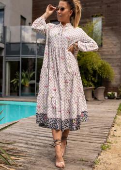 Midi Kleid BASTET GLORY Rose