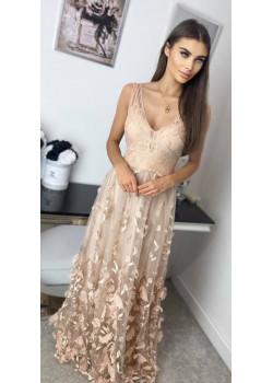 Maxi sukienka JORDAN róż