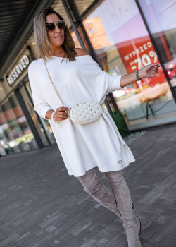 OVERSIZE Pullover BASTET Ecru