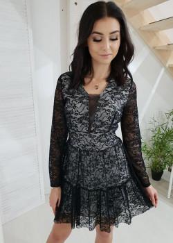 Spitzen Kleid FAHARI...