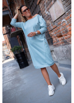 OVERSIZE Kleid BASTET Blau