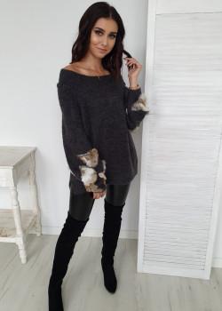 Pullover GRAFFY Dunkelgrau