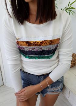Sweter TRISS biały