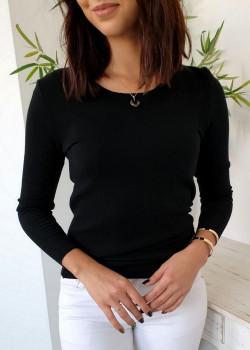 Klasyczny sweterek NEON czarny