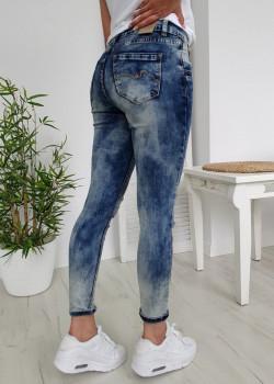 Jeans LUIZACCO blau