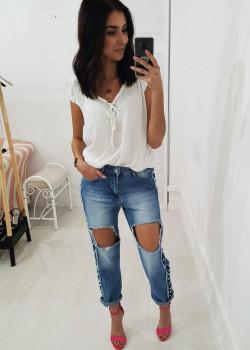 Boyfriend Jeans MARCOS Blau